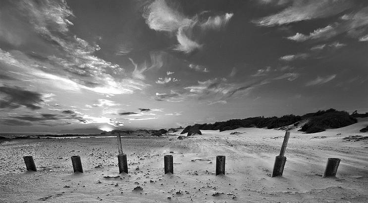 Gordon's Bay Beach Landscape