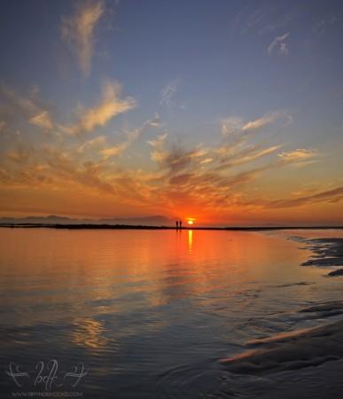Strand Beach Sunset