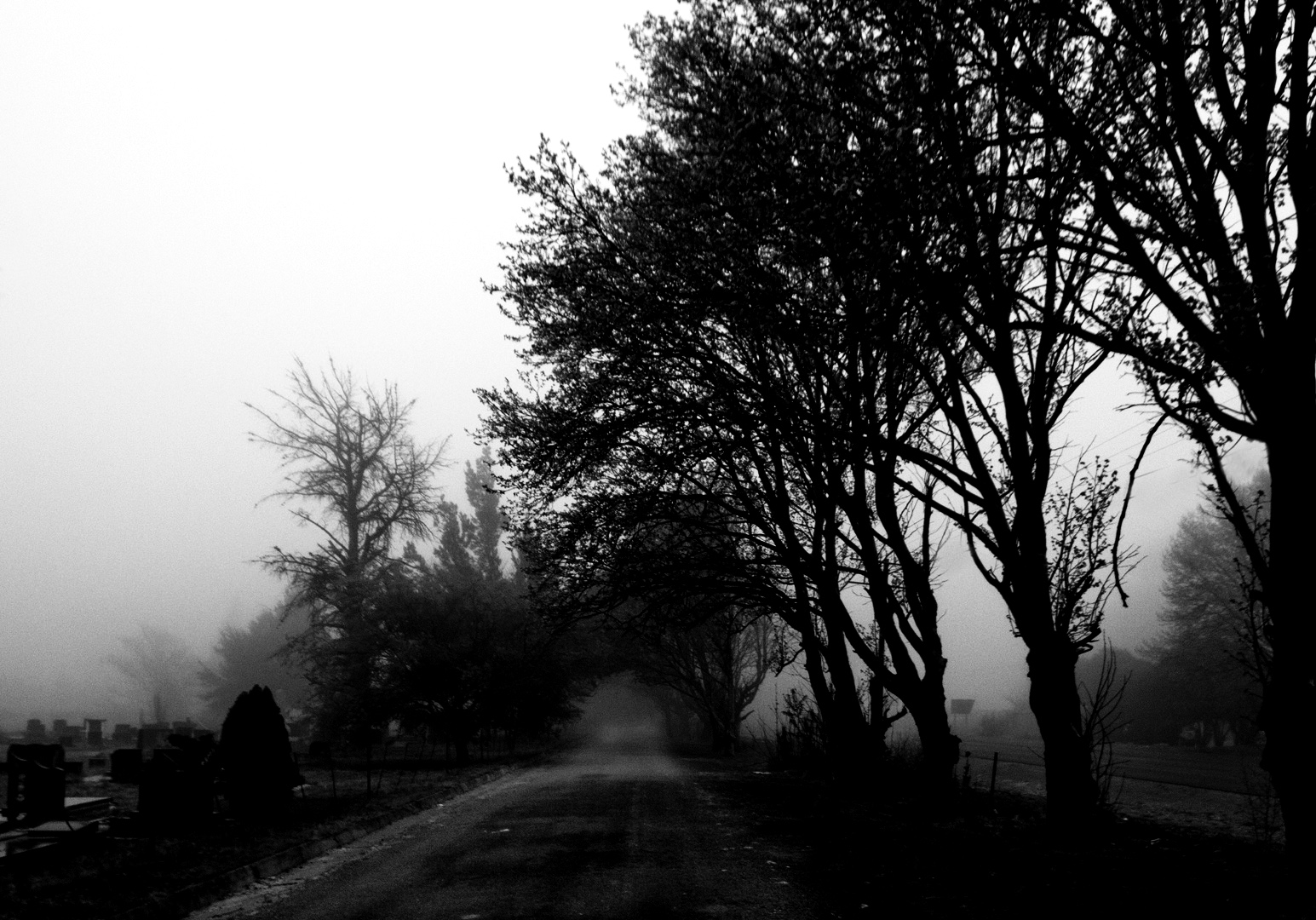graveyard-black-and-white