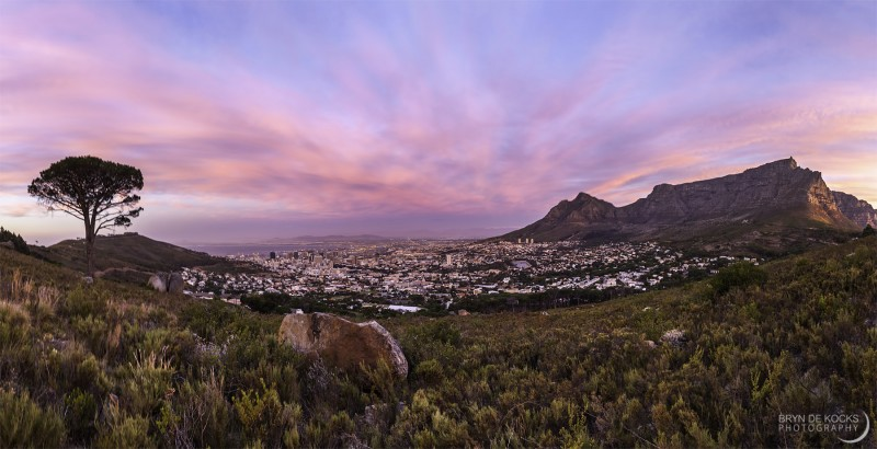 cape-town-sunset-panorama