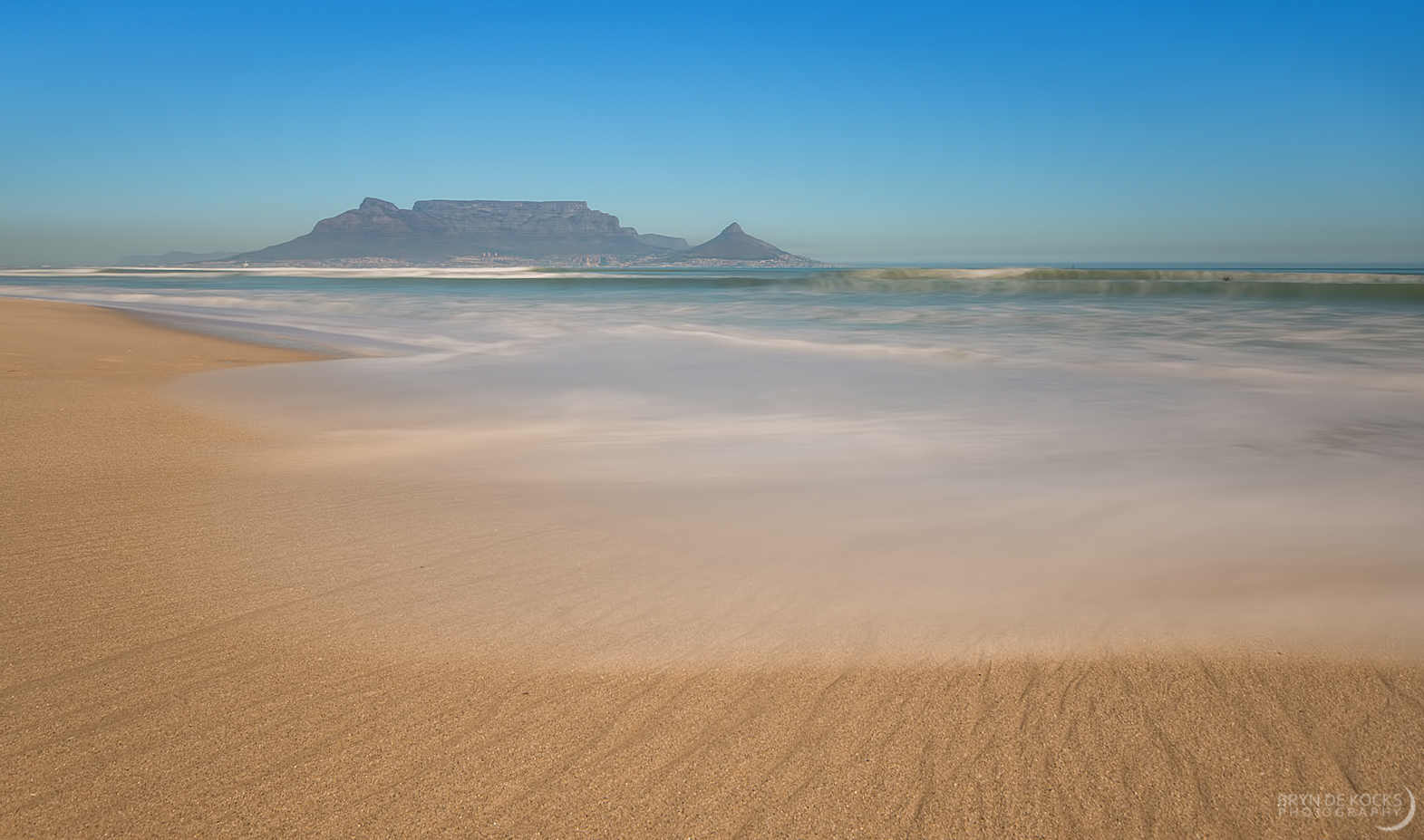 Table Mountain as seen from Blouberg