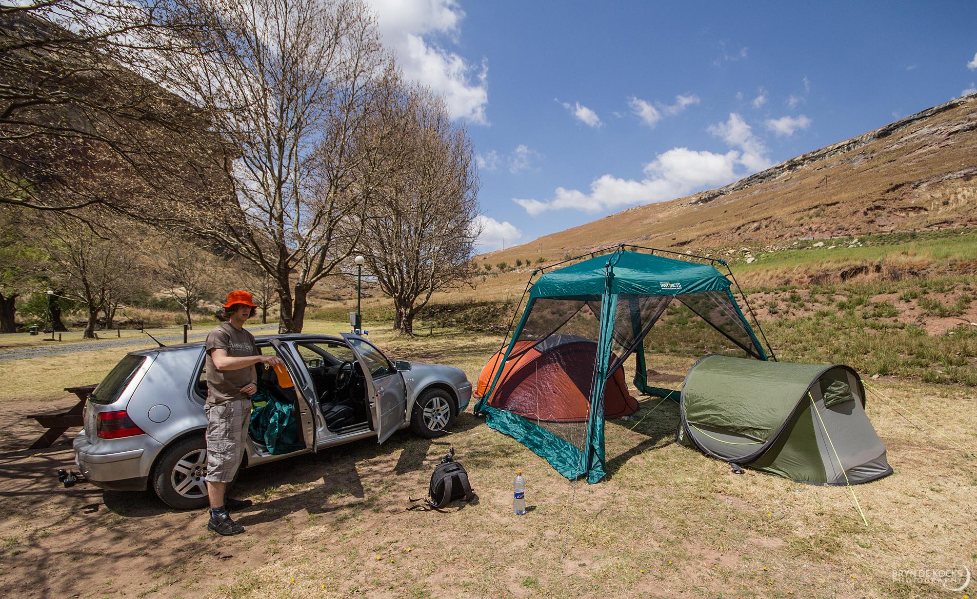 camping golden gate