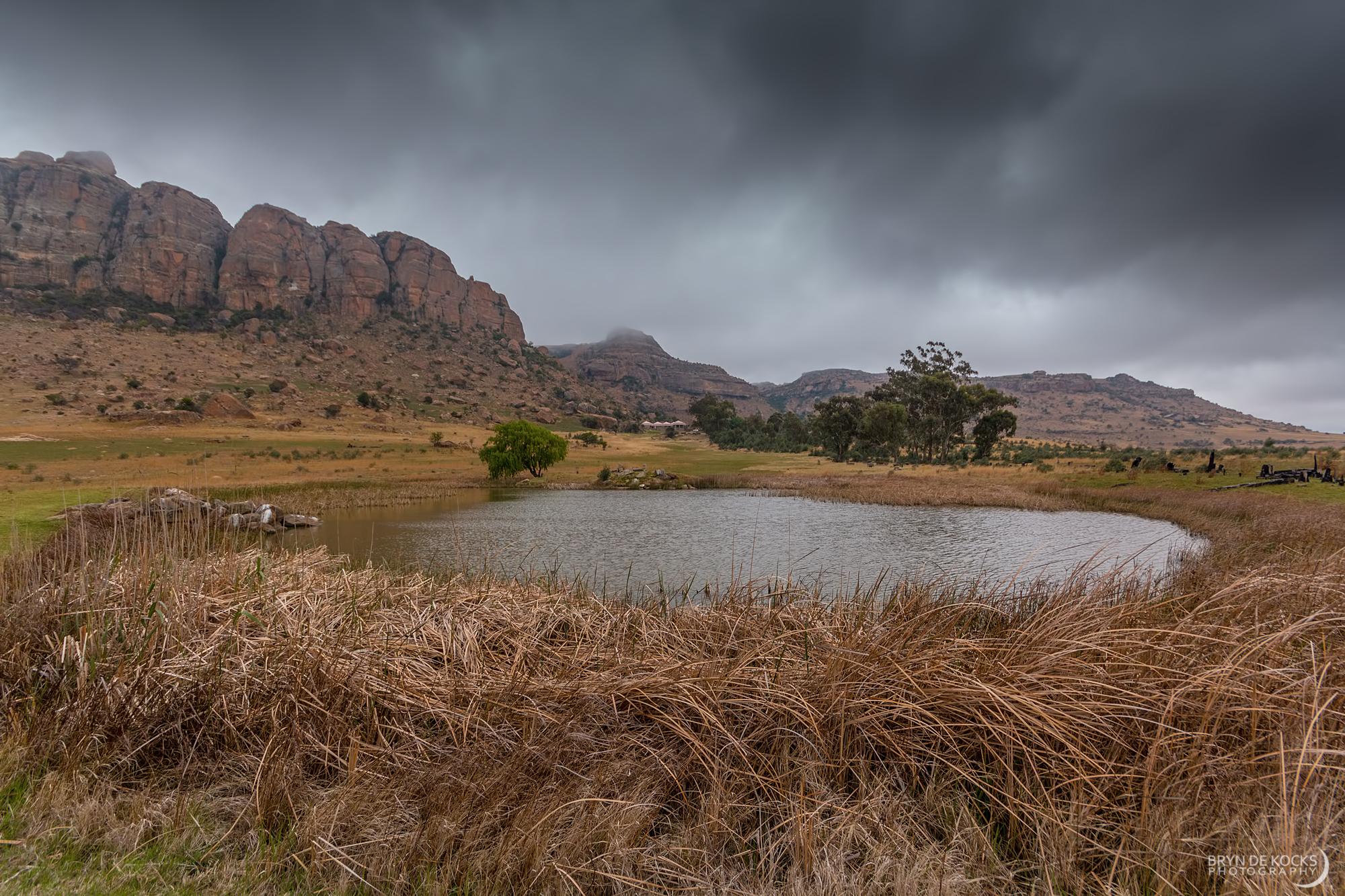 drakensberg-pond