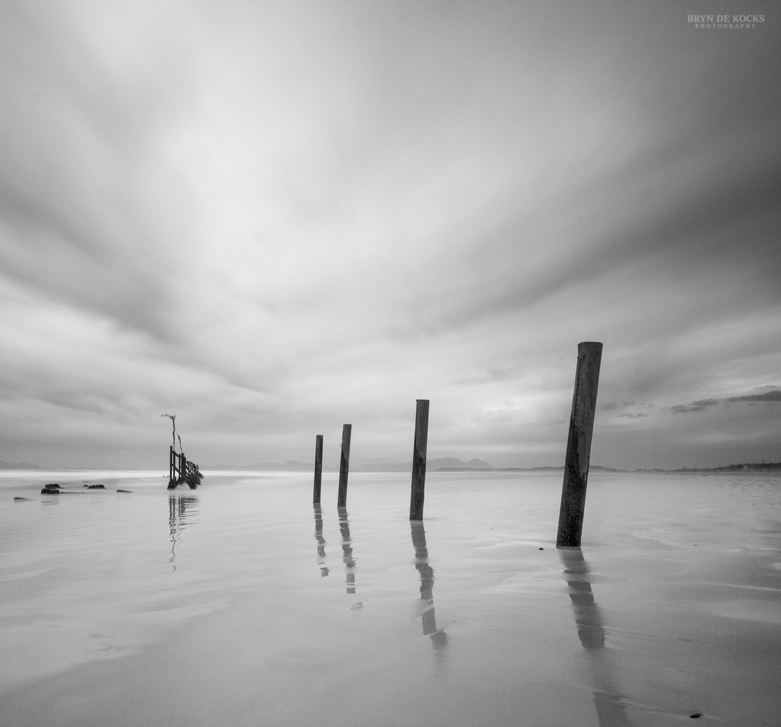 Grey Seascape