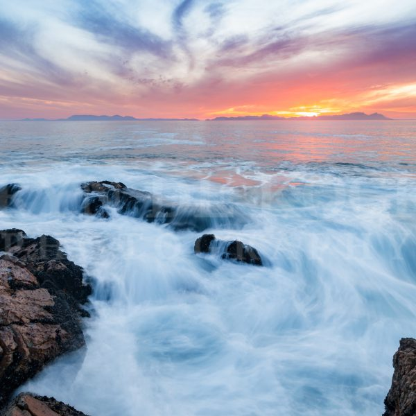 Gordon's Bay Oceanic Sunset Print