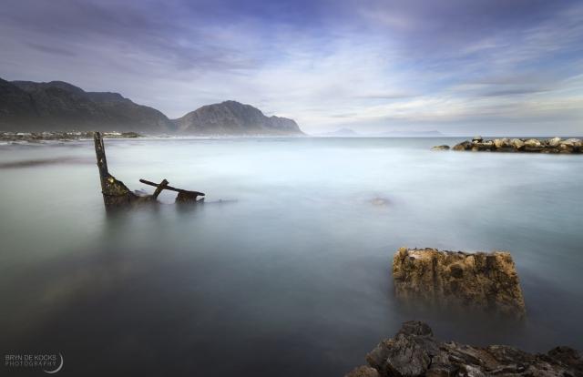 Shipwreck at Betty's Bay