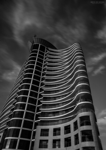 Black and White Building in Strand