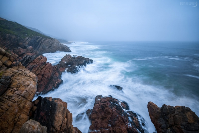 Misty Kogelbaai Seascape