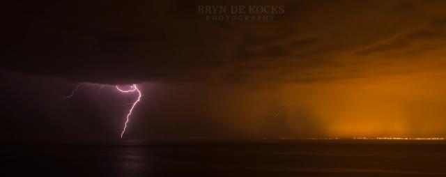 gordons bay lightning