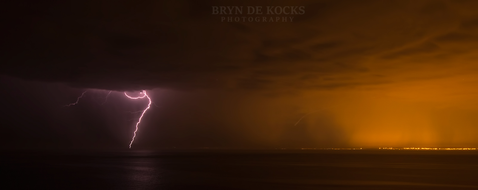 gordons bay lightning