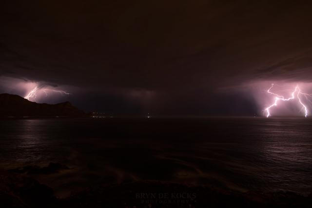 kogelbaai thunderstorms