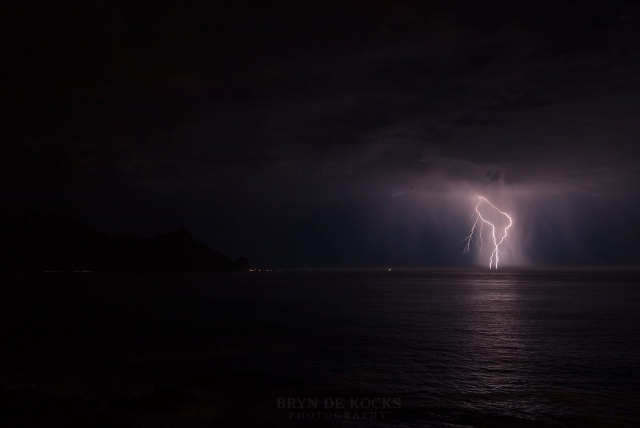 lightning cape town