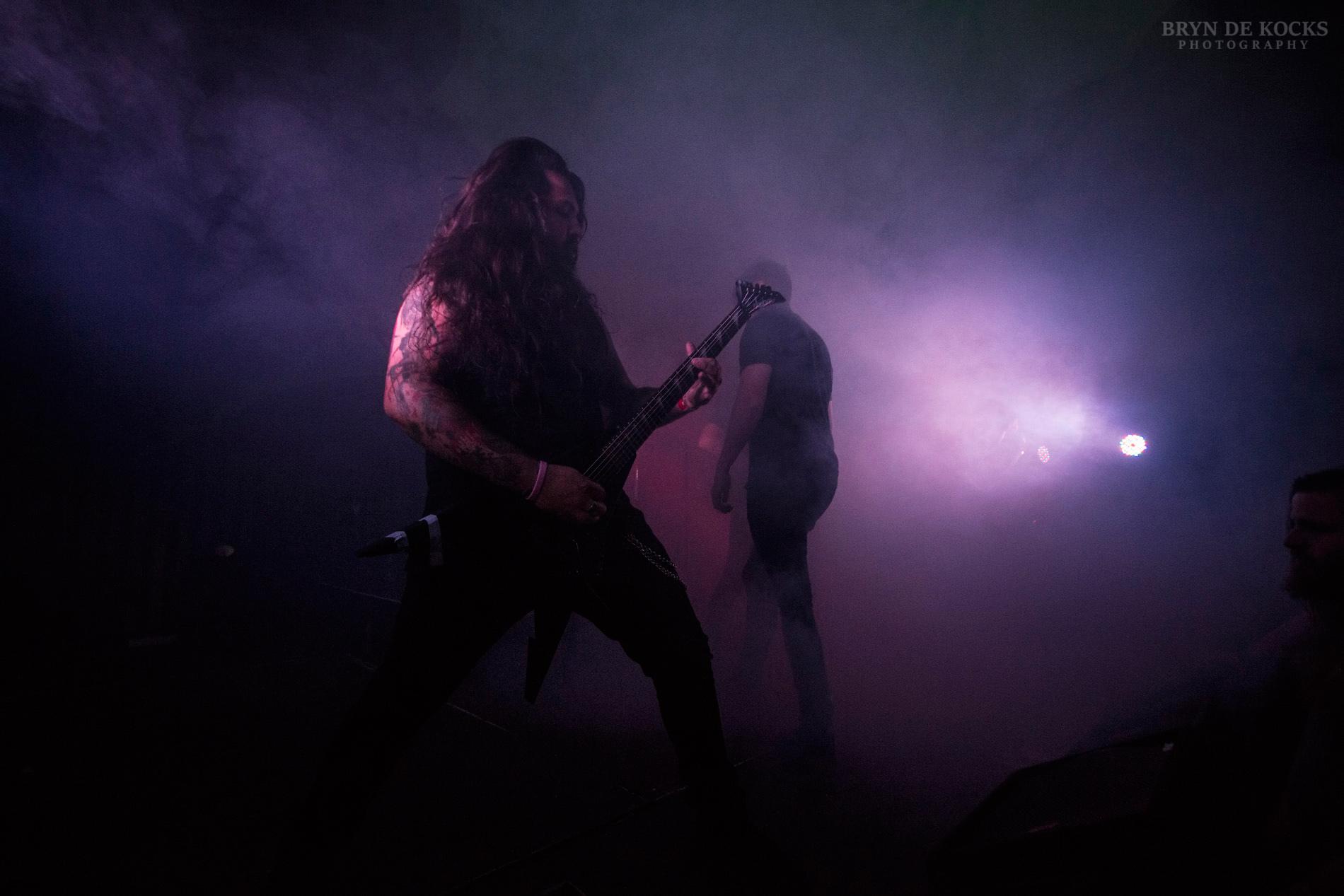 Live metal band