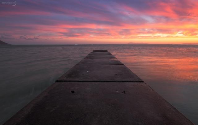 Strand Pier Sunset