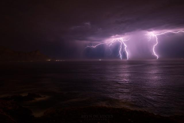 thunderstorm from kogelbaai